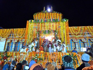Badrinath Temple opening ceremony on May 16 2013