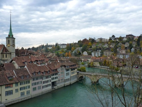 A view over the storybook city of Bern, Switzerland