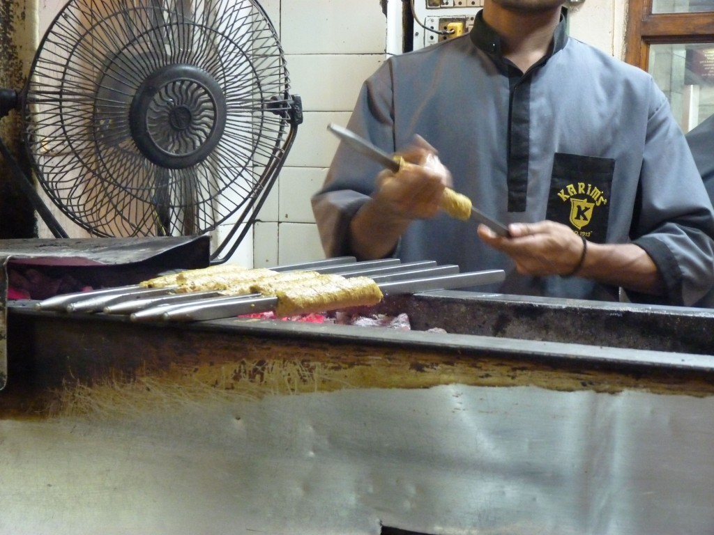 Kababs at Karim's, an Old Delhi institution