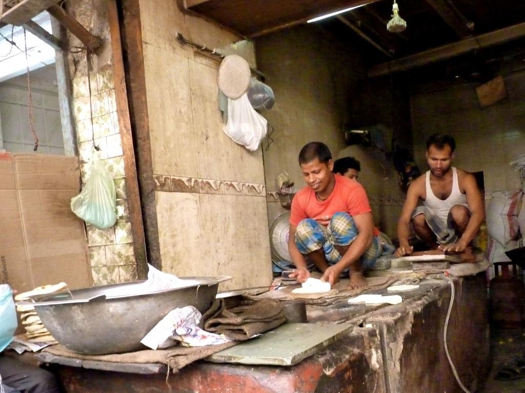 Naan shop, Old Delhi