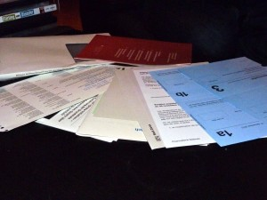 Documents for upcoming referenda