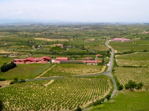 View from Laguardia, La Rioja Alavesa