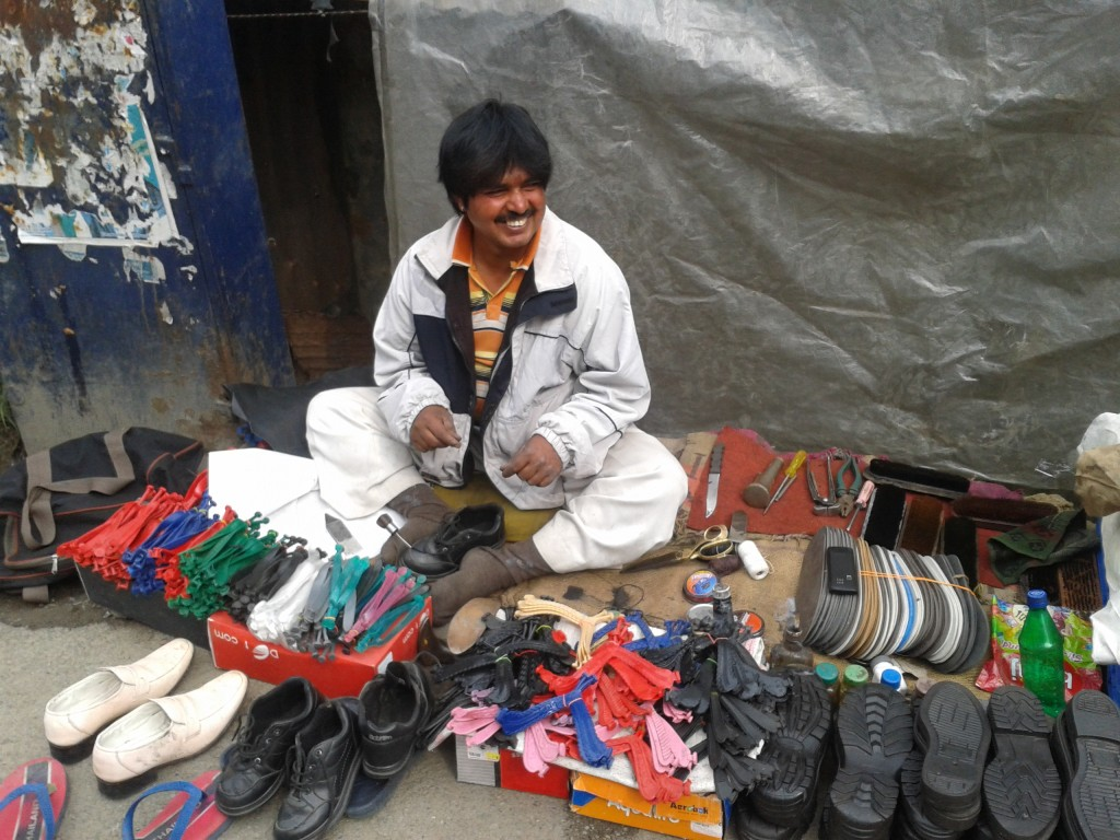 Roadside repair of flip flops, sneakers, hiking boots and footwear of all kinds