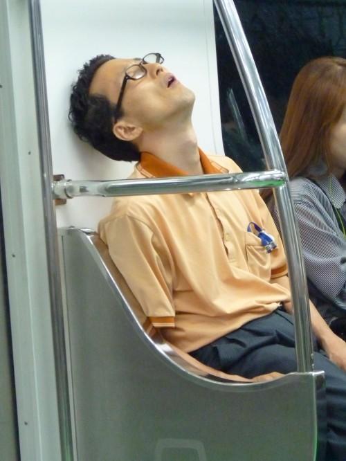 Resituate Seoul metro nap