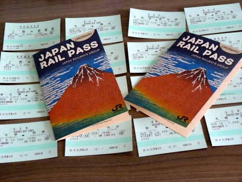 Resituate Japan Rail Pass